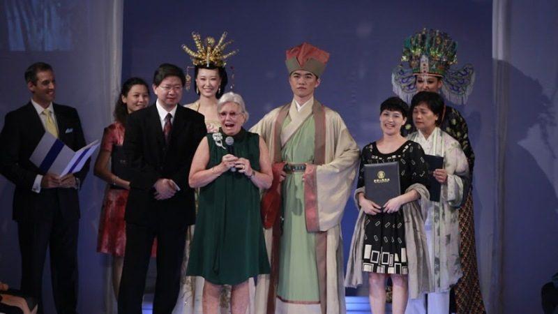 組圖:奧斯卡獎服裝設計師頒獎漢服大賽