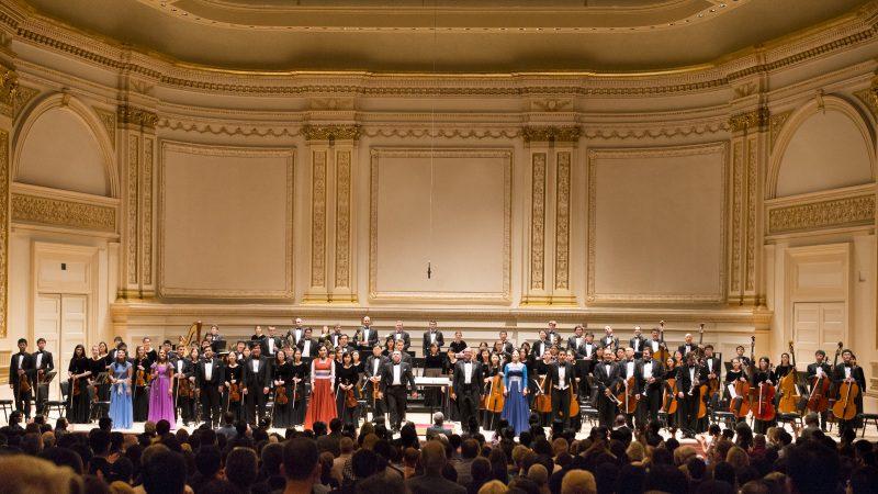 神韵交响乐团音乐会纽约卡内基举行