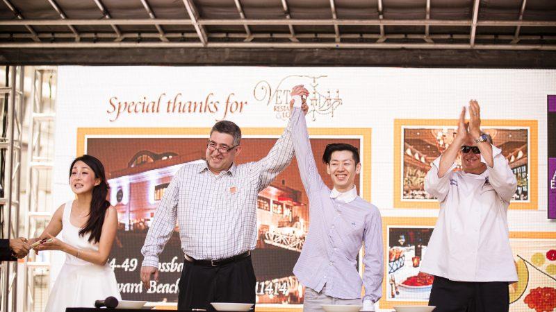 新唐人亚洲美食节时代广场现场实况(2)