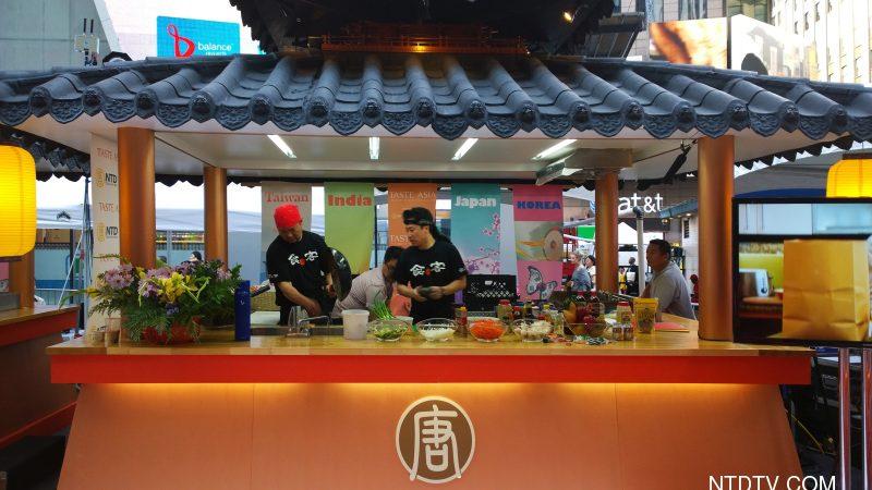 亞洲美食節時代廣場熱鬧非凡