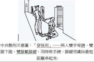 诚宇:中共酷刑--前穿、后穿(组图)