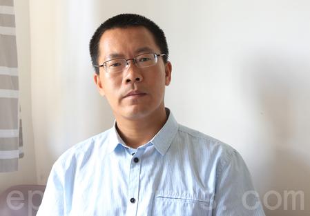 """滕彪:中共最恐惧三个字""""法轮功"""""""
