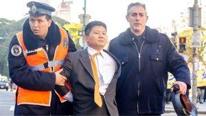 习近平访阿根廷 中领馆雇凶袭击法轮功学员被捕