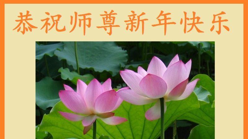 大陸四川成都大法弟子恭祝李洪志大師過年好