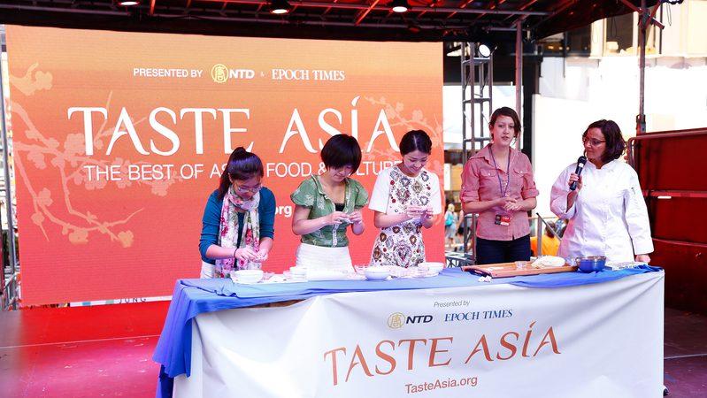 【亞洲美食節】台灣美食作家韋凱琳主持包餃子賽