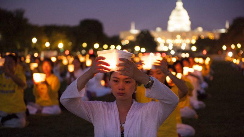 余以澄:7.20反迫害十七周年烛光悼念