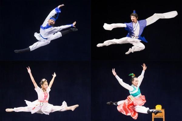 中国古典舞亚太初赛少年入围者风采(组图)