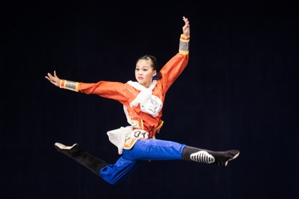 第七屆中國舞亞太初賽女子組風采(組圖)