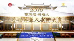 """快讯:2016新唐人""""全世界华人武术大赛""""金奖揭晓"""