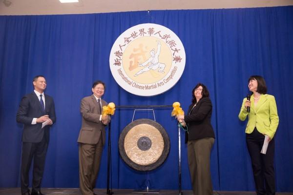 新唐人武术大赛纽约隆重开场 政要赞盛事