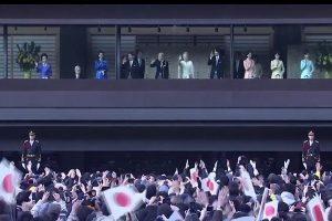 日皇明仁發表新年談話 近6萬人在場聆聽