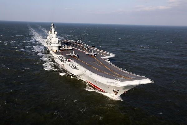 台媒:中共遼寧號航母 僅具3成戰力
