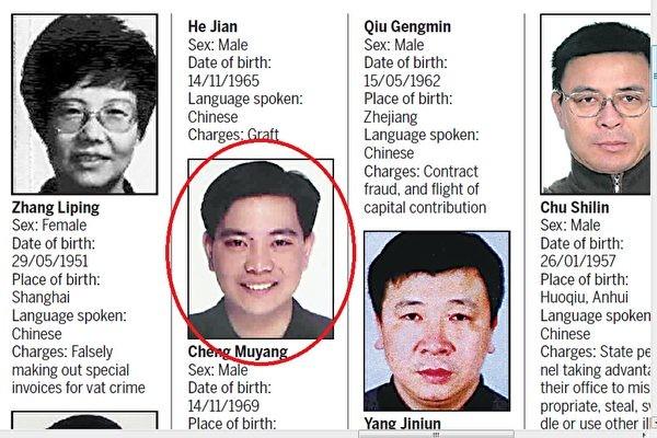 红色通缉犯程慕阳曾為加拿大自由黨籌款