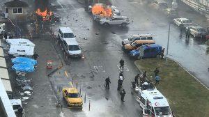 土耳其連環爆 數人死傷 警斃2犯追第3人