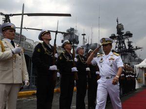 俄軍艦訪菲律賓 雙方海軍將舉行「交會演習」
