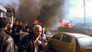 叙土边界油罐车攻击48死 尸体烧焦身份难辨