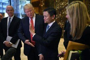 北京明暗两线试探川普 马云肢体语言有玄机?