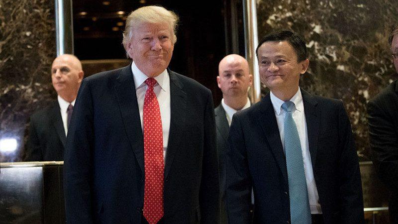 馬雲會川普 誓將美服裝賣中國 美業主不信