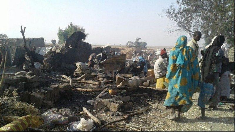 围剿武装份子 奈及利亚空袭难民营至少50人丧生