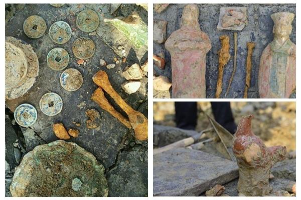 四川成都施工隊開挖作業 意外發現宋代「土豪」墓