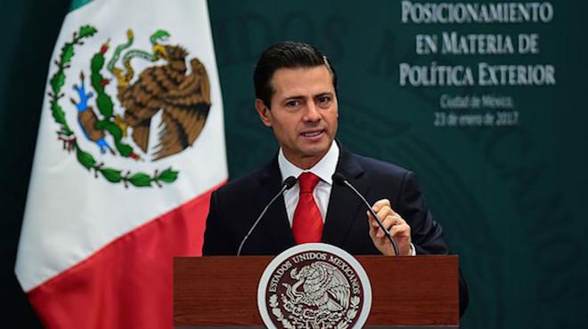 拒不付建牆費 墨西哥總統取消訪美