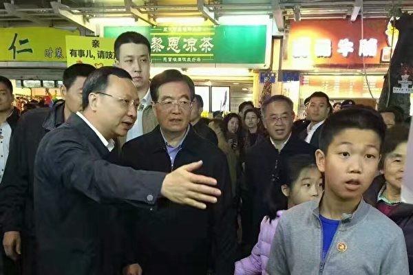 破病重传言 胡锦涛高调亮相广州