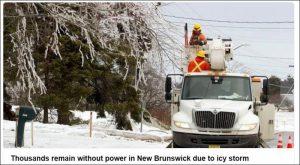 遭受冰暴襲擊 加拿大新省近6萬人失去電力