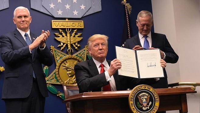 川普新令:停收难民至少120天 严管7穆斯林国签证