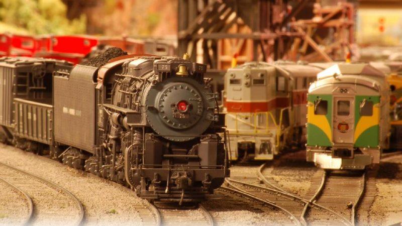 2017多伦多铁路模型冬展
