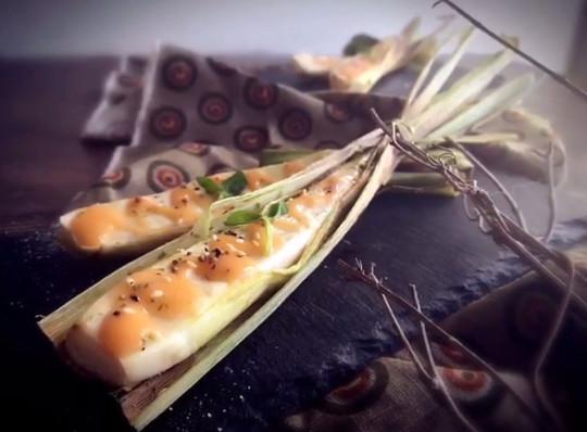 【食‧文化】烤筊白筍 Grill water bamboo shoot
