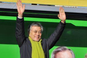 潘基文退选 韩国在野党士气倍增