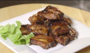 【食‧文化】健康饮食:空气炸锅做叉烧酱排骨