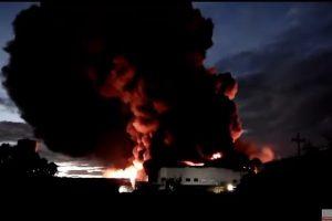 菲国日商工厂大火 延烧18小时 逾百人受伤3失踪(视频)