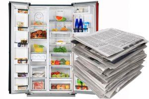 太實用了!把「舊報紙」塞進冰箱內,隔天見證奇迹!