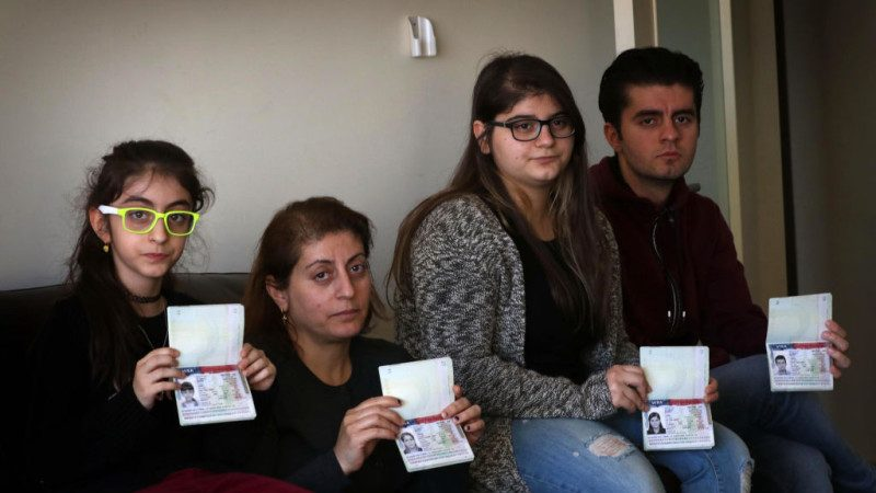 川普移民令下 超10萬簽證被註銷