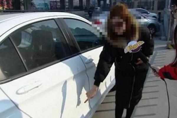 濟南女花11萬買本田新車 洗車現「試乘試駕」字樣