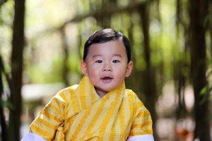 世界最幸福国家 不丹庆小王子1岁生日