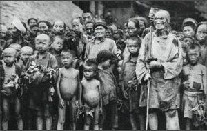 大飢荒見證:每天都往出抱死人