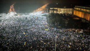 撤貪腐除罪難平民憤 羅馬尼亞50萬人上街頭