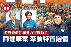周晓辉:习阵营动肖建华或涉香港特首选举