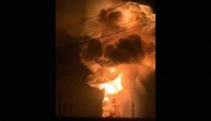 山西交城金屬鎂廠大爆炸 現場升起蘑菇雲傷亡不明(視頻)