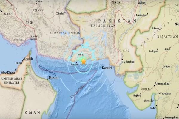 巴基斯坦沿岸6.3淺層地震 暫未傳傷亡