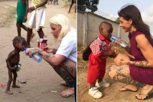 1年前,奄奄一息的他湊上前喝水獲救;現在,3歲的他生龍活虎,胖墩墩愛笑愛鬧上學啦。他終於擺脫了巫術~
