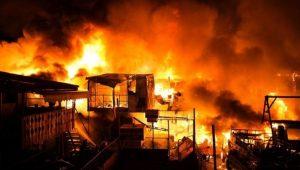 馬尼拉貧民窟大火 千棟房屋燒毀 華人義消遭批救災不力