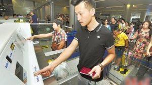 外国旅客入境大陆 边检将留存指纹