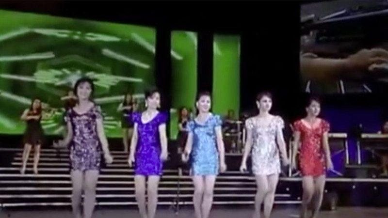 看各國慰軍演出團 朝鮮牡丹峰樂團女成員比日本還暴露