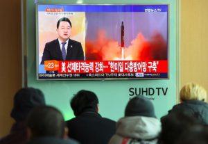 朝鮮射飛彈挑釁 美早預料中 韓加大制裁