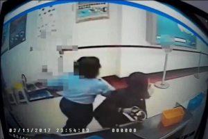 夹藏安毒闯高雄机场 女狂奔避查缉遭压制(视频)