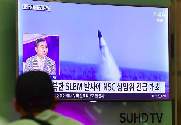 朝鲜首度射飞弹挑衅川普 美国总统强硬回应