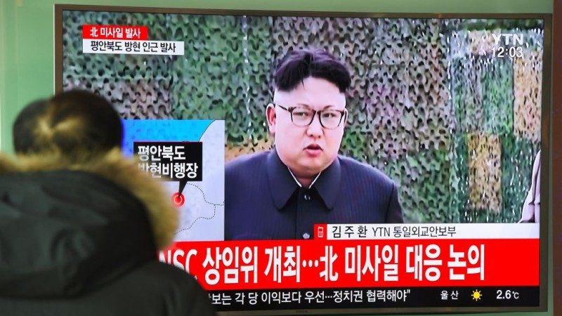 朝鮮發射飛彈 金正恩主導「北極星2號」